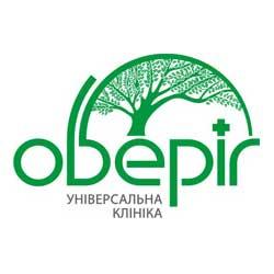 """Логотип Клініка """"Оберіг"""" інсультний центр"""