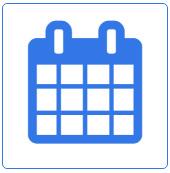 Лого час роботи (календар)