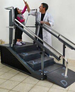 Динамический тренажер лестница-брусья DST 8000 реабилитация детей
