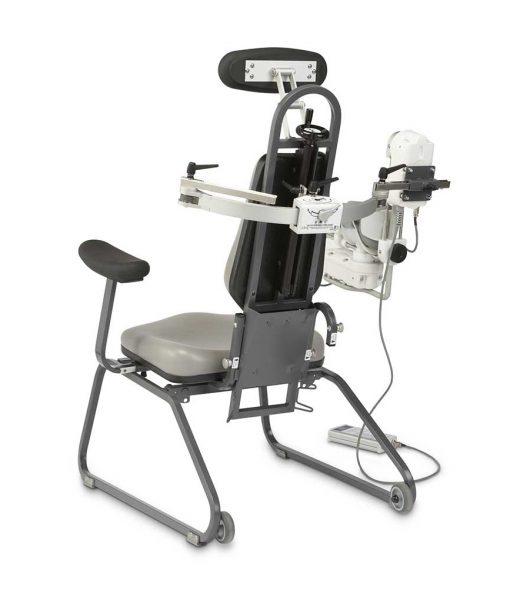 Тренажер для пасивної розробки плеча СРМ S3 без пацієнта вид ззаду