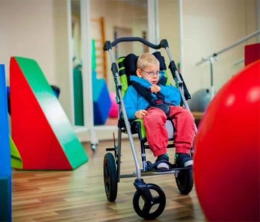Крісло-коляска інвалідна ULISES EVO з дитиною