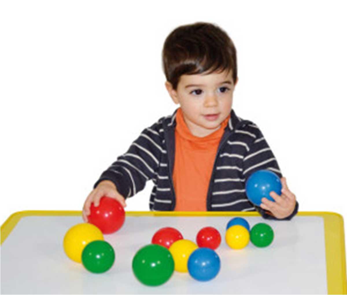 Кульки Фрібол з дитиною