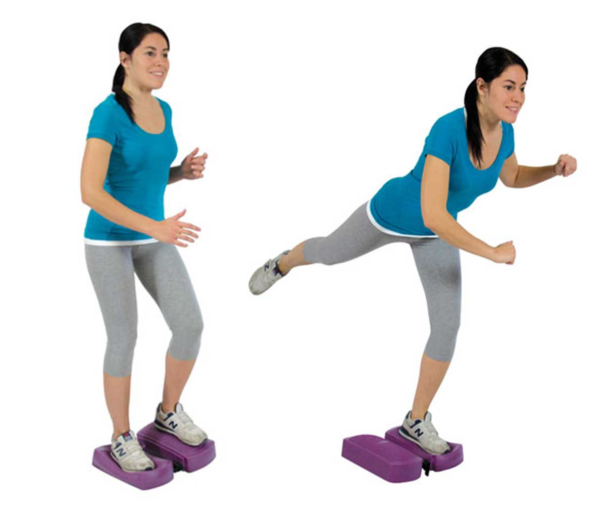 Платформа-степер балансувальна Мувін-степ вправи