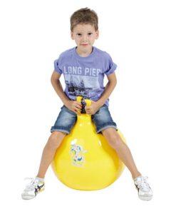 Мяч для прыжков Оппия желтый