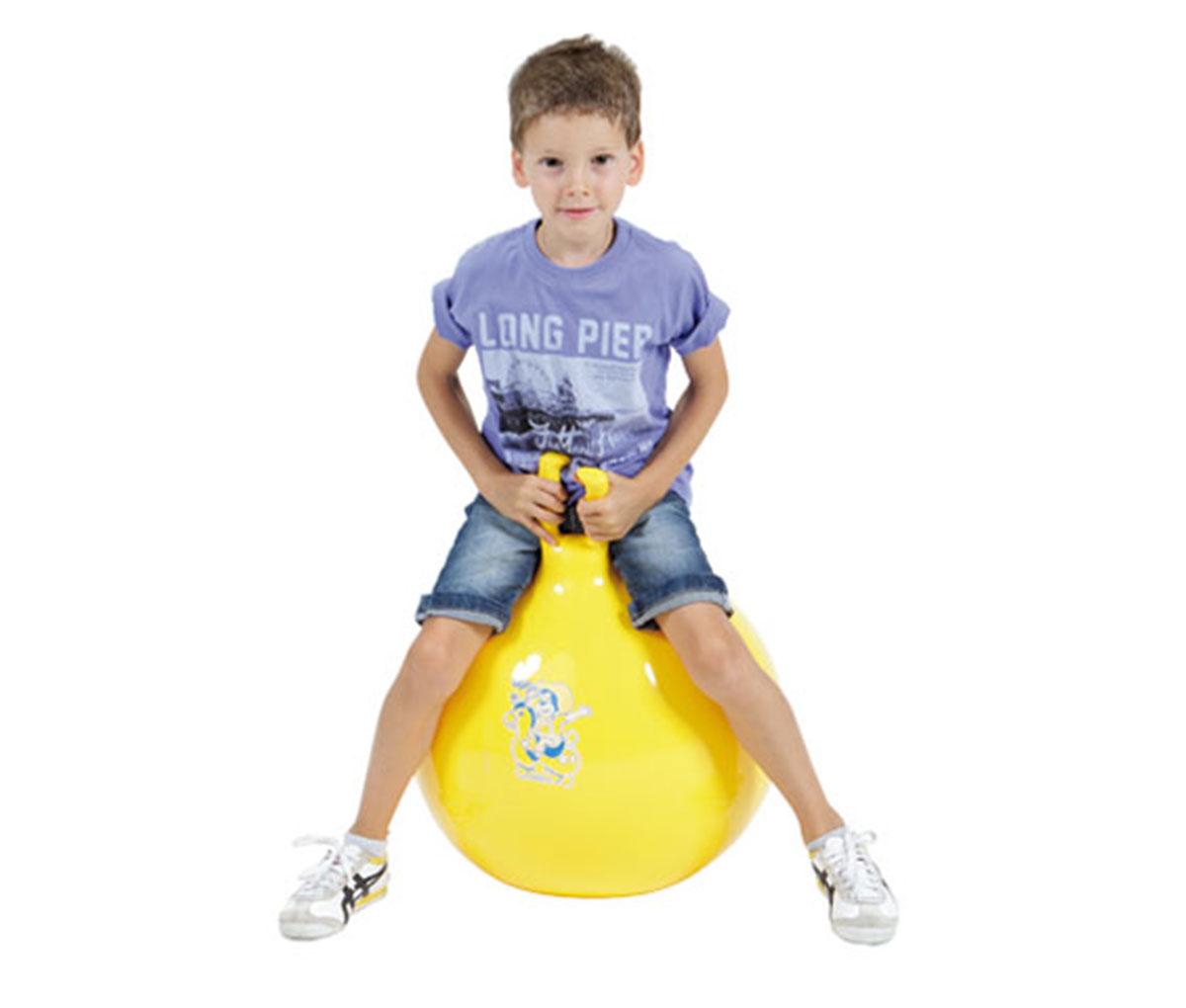 М'яч для стрибків Оппі жовтий