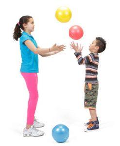 М'яч Овербол (25 см) з дітьми