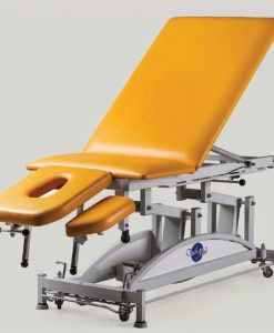 Стіл масажний з електричним регулюванням висоти – похилий SM-2E-Lt