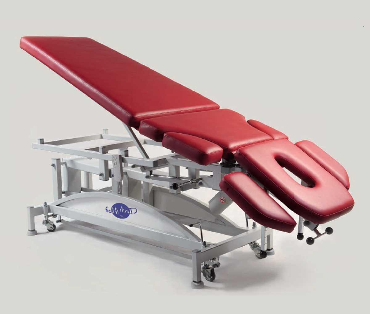 Стіл масажний з електричним регулюванням висоти – похилий SM-J