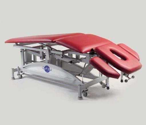 Стіл масажний з електричним регулюванням висоти – похилий SM-W
