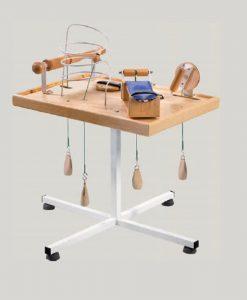 Столик для розробки рук та дрібної моторики пальців TB\O(з навантаженням)
