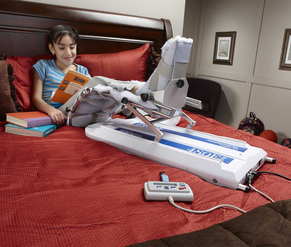 Тренажер для пасивної розробки коліна дітей CPM 480E