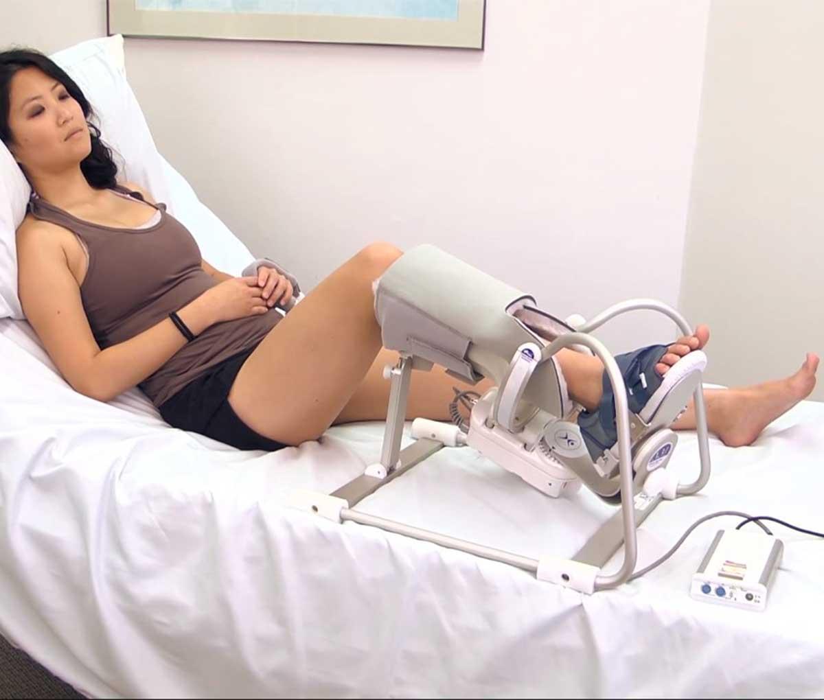 Тренажер для пасивної розробки CPM A3 для гомілково-ступневого суглобу