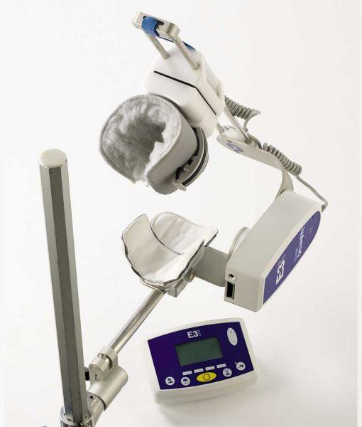 Тренажер для пасивної розробки ліктьового суглобу CPM E3 без пацієнта виз згори