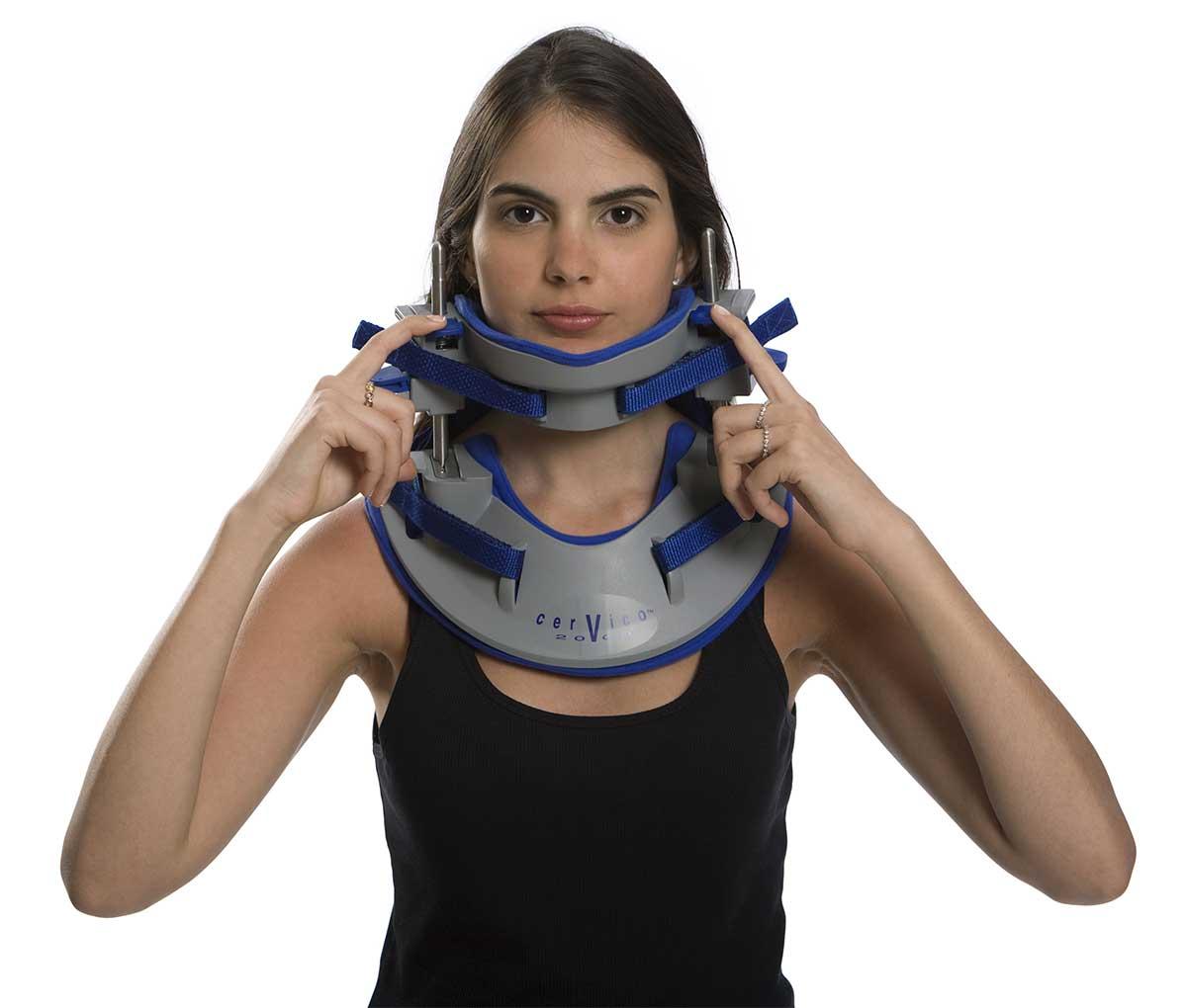 Пристрій для шийного витягування (тракції) хребта Сервіко2000 регулювання