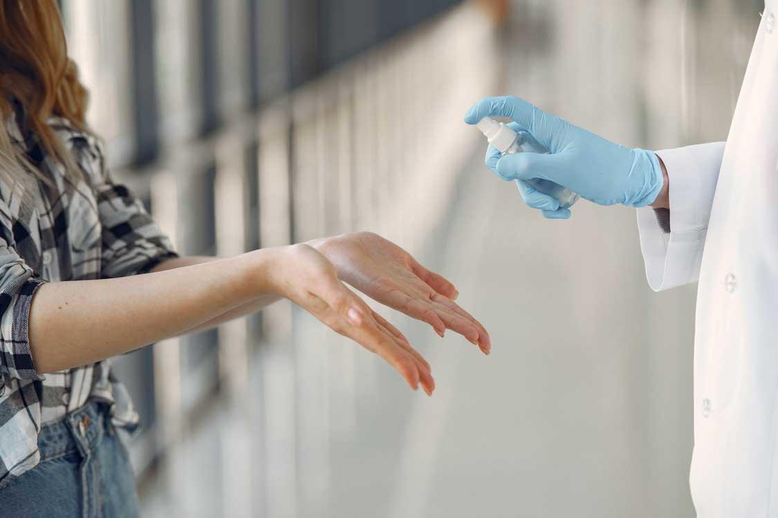 Дезінфекція рук